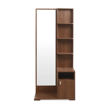 Sansa Dresser with Mirror - @home by Nilkamal, Walnut