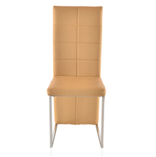 Brick Dining Chair With Cushion - @home By Nilkamal, Beige