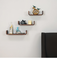 Trio Shelf Set Of 3, Walnut