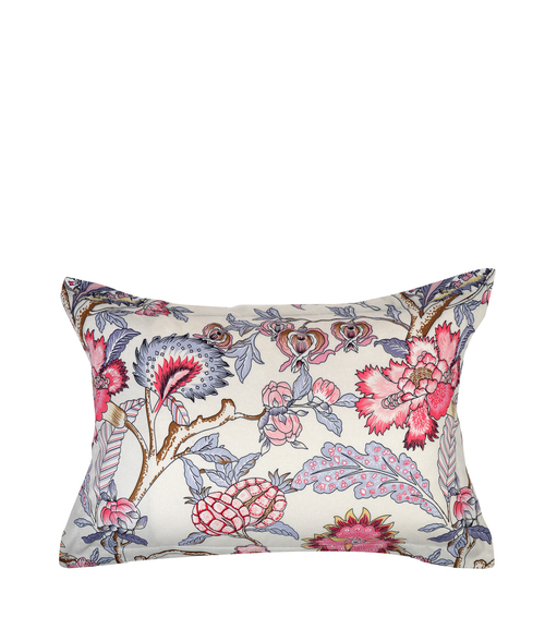 Floral 46 cm x 69 cm Pillow Cover Set of 2 - @home by Nilkamal, Maroon