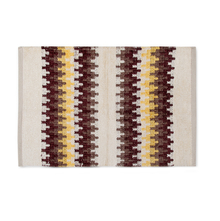 Aarow 60 cm x 90 cm Rug - @home by Nilkamal, Yellow