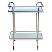 Abelia Serving Cart with Wheel - @home by Nilkamal, White
