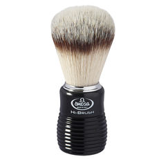Omega 0146081 HI-BRUSH fiber Badger Effect Shaving brush– Made in Italy