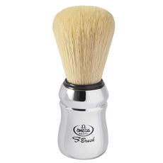 Omega S10083 S-Brush Synthetic Boar Shaving Brush– Chrome Handle– Made in Italy