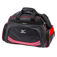 Mizuno Light Style ST Light Boston Bag - Black/Red,  black