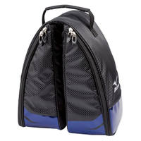 Mizuno ST Light Shoe Bag - Black/Blue,  black