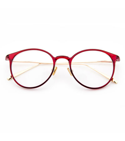 Cherry Red Cat Eye Frame