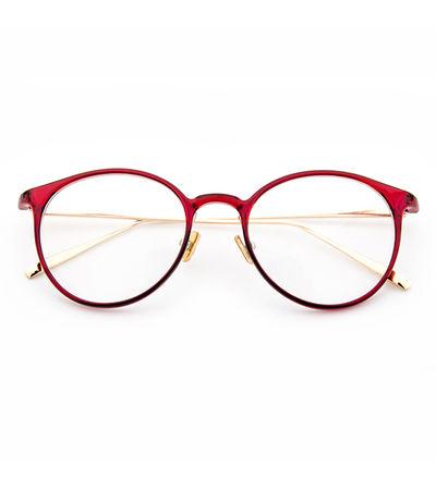 Cherry Red Cat Eye Frame