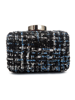 Twead Blue Clutch