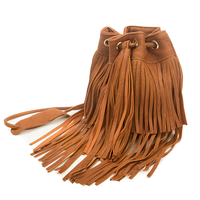 Small Duffel Tassel Brown Sling