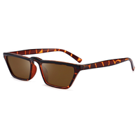 Kourtney Micro Animal Print Sunglasses