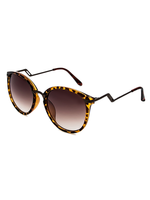 Meow! Zig Zig Arm Sunnies (Animal Print)