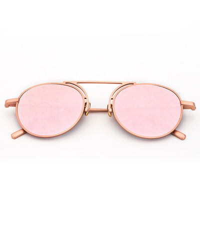 Kendall Sunnies (Pink Reflective)