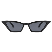Kylie Micro Cat Eye Black Sunglasses