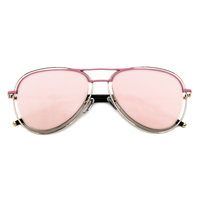 Kourtney Aviators Pink Detail