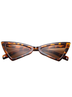 Butterfly Effect Animal Print Sunglasses