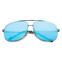 South Beach Blue Aviator Sunnies