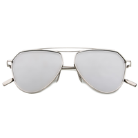 New Age Aviator Sunnies (Silver)
