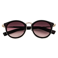 Under The Sun Cat Eye Sunnies (Brown)
