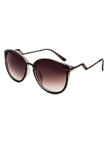 Meow! Zig Zig Arm Sunnies (Brown)