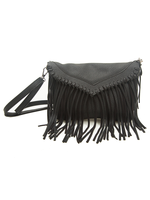 Envelope Tassel Sling Black