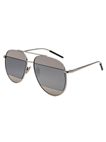 Split Lens Sunnies (Silver)