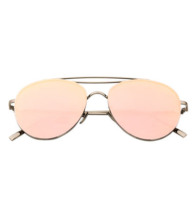Candy Dreams Sunglasses (Rose Gold Reflective)