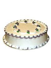 Ferns N Petals Fresh Vanilla Cake Half Kg