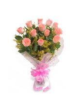Ferns N Petals Pink Delight