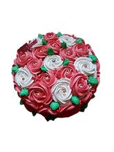 Ferns N Petals Half Kg Swirl Roses Cake