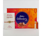 Ferns N Petals Rakhi Cadbury Celebrations Combo