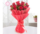 Ferns N Petals Mothers Day Special Enigmatic 12 Red Roses