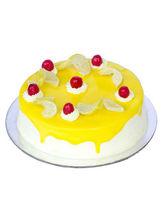 Ferns N Petals Lemon Vanilla Cake