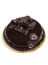 Ferns N Petals Rich Velvety Chocolate Cake Half Kg...