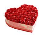 Ferns N Petals Rose Cake