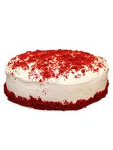 Ferns N Petals Red Velvet Fresh Cream Cake