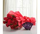 Ferns N Petals Rosy N Sweet