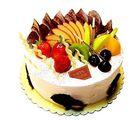 Ferns N Petals Fresh Fruit Cake Half Kg Eggless
