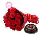 Ferns N Petals Mothers Day Special Roses N Chocolaty Love