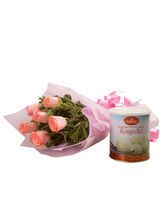 Ferns N Petals Roses N Rasgulla