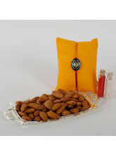 Ferns N Petals Rakhi With Almonds Combo