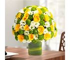 Ferns N Petals Express Love With Yellow Roses