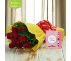 Ferns N Petals Rakhi Flower Charm