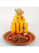 Ferns N Petals Traditional Rakhi Thali Combo