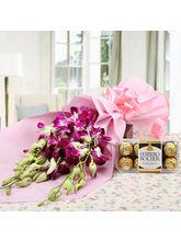 Ferns N Petals Choco Orchid Delight