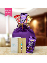 Ferns N Petals Rakhi Chocolaty Wishes Combo