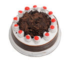 Ferns N Petals Black Forest Cake Half Kg Eggless