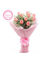 Ferns N Petals Mothers Day Special Passionate Pink...