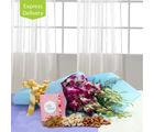 Ferns N Petals Vibrant Orchids Hamper-Rakhi