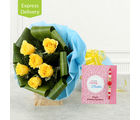 Ferns N Petals Love For Rakhi N Rose